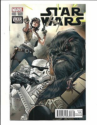 Star Wars # 13 (Mann Connecting Variant Cover, Feb 2016), Nm New