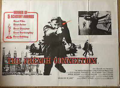The French Connection (1971) Original Quad Poster