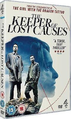 The Keeper Of Lost Causes Dvd Uk Region 2 Original New Sealed