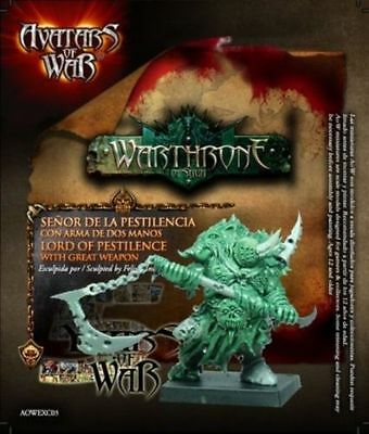 LORD OF PESTILENCE WITH GREAT WEAPON CHAOS 28mm - Avatars of War