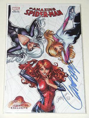 Amazing Spider-Man #25 J. Scott Campbell EXCLUSIVE Cover A