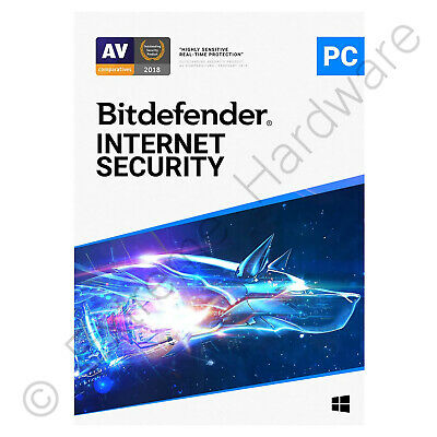 Bitdefender Total Security 2017 Antivirus 3 PCs / Users 1 Year Activation Key