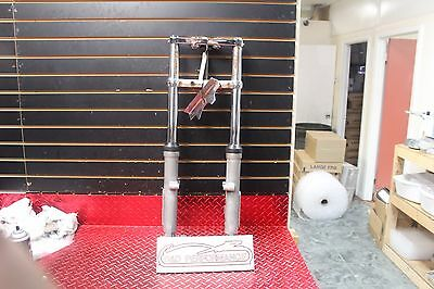 2003 Harley Dyna Fxd Wide Glide Oem Forks Triples Axle Str8 Has Rust Fxd2