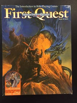 First Quest Advanced Dungeons and Dragons 2nd Ed. Audio CD Game