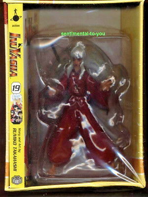 Limited InuYasha in DEMON Form RED EYES anime Figure w/Swords+Manga+Art Box OOP
