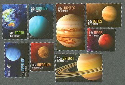 Australia=-Solar System -Planets set cto-fine used 2015-Space
