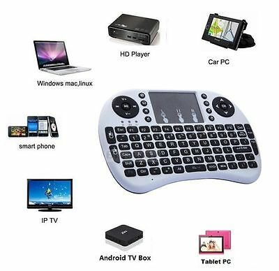 Wireless Mini Keyboard Rii8+ Air Mouse Combos Remote Control for Android Tv Box