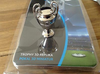 **Champions League Final TROPHY 3D REPLICA Cardiff 2017 Real Juventus Torino