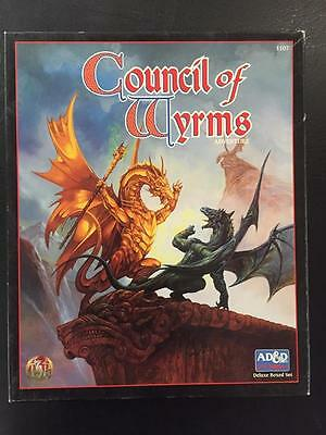 Council of Wyrms Advanced Dungeons and Dragons 2nd Edition