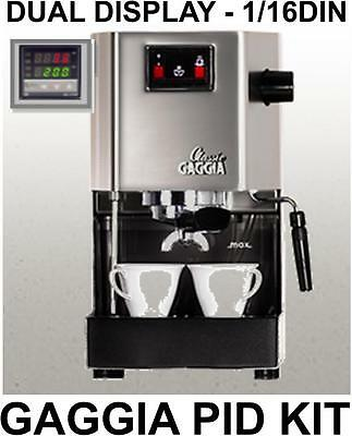 Gaggia Classic PID Kit (1/16DIN dual display) - all parts and full instructions