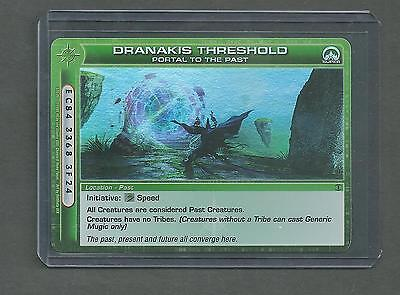 "Chaotic Location Card - ""dranakis Threshold Portal To The Past"" - Super Rare"