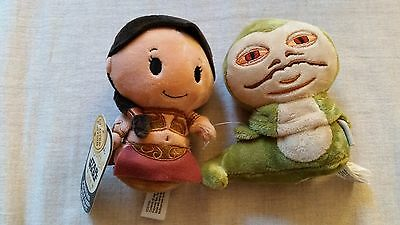 SDCC 2016 Hallmark Slave Princess Leia and Jabba the Hutt Itty Bittys Star Wars
