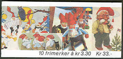 NORWAY #1031-2 (H79) Complete Christmas Booklet, VF