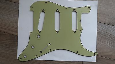'59 Fender Stratocaster Nitrate Celluloid Mint Green Pickguard 62 relic '59 '61