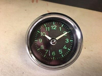 Porsche 60mm CLOCK 12v  T6 356B/C & later Reproduction NEW BECK product also 6V