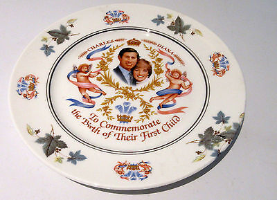 Princess Diana Charles Prince William Andrew Sarah Wedding Collectors Plates