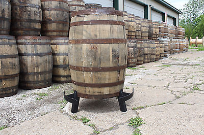 Whiskey Barrel Bar Table Foot Rest and Riser (Whiskey barrel not included)