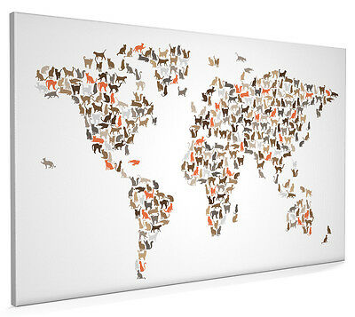 French bulldog box canvas and poster print 8 1259 picclick uk cats map of the world map box canvas and poster print 2545 gumiabroncs Gallery