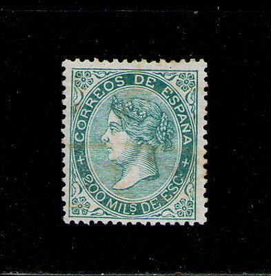 SPAIN 1868 USED SC.101 Isabel II