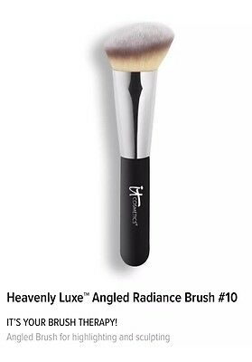 Heavenly Luxe™ Angled Radiance Brush #10
