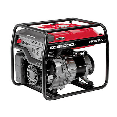 Honda EG6500 6,500 Watt Recoil Start Gas Powered Home RV Portable Generator