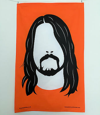 Dave Grohl Foo Fighters Tea Towel