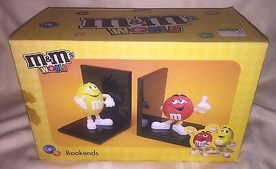 M&M's World Bookshelf Bookends M&Ms Brand New in Box