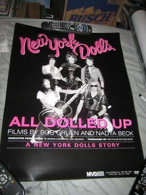 NEW YORK DOLLS-(all dolled up)-18X24 POSTER-NMINT-RARE