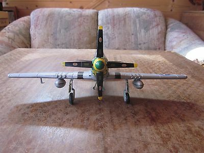 """North American P-51D 'mustang' Model Aircraft  """"very Nice"""" Look!"""