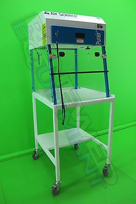 Air Science Purair 5 Ductless Fume Hood PCR Workstation with Cart