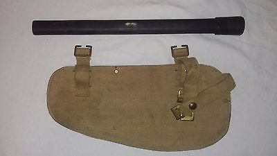 Post WW2 WWII Canadian British Entrenching Tool Cover Handle