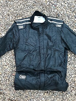 Omp Kart Suit And Race Boots Large Mens Size 9 Great Condition Race Racing Suit