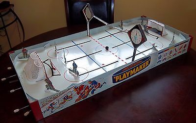 Eagle Playmaker Hockey Game 1950's table top hockey game