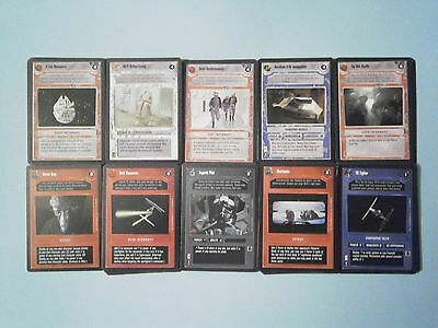 Star Wars CCG Cards Premier Common Set (108 cards). Decipher, 1995. Unused