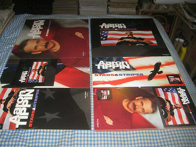 AARON TIPPIN-(stars & stripes)-1 POSTER FLAT-2 SIDED-12X24-NMINT-RARE