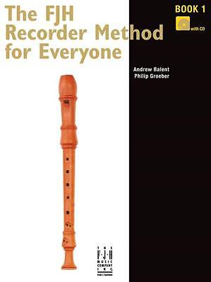 The FJH Recorder Method For Everyone Series - 3 book set