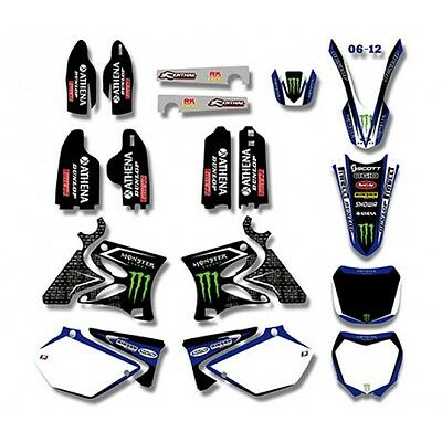 YAMAHA YZ125 YZ250 2002- 2012 Graphics Decals Sticker Kit MX MONSTER