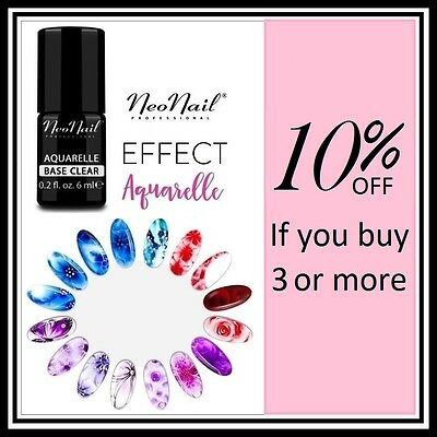 Neonail Gel Polish Aquarelle Nail Hybrid 100% Genuine