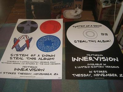 SYSTEM OF A DOWN-(steal this album!)-1 POSTER-2 SIDED-12X18-NMINT-RARE