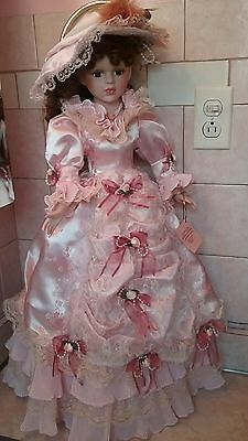 "Vintage Traditions  Victorian doll collection with  arm tag  -28"" Tall"