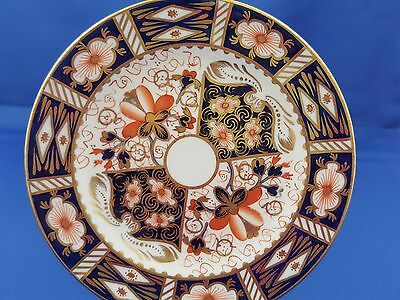"""1929 Royal Crown Derby Bread Butter Plate Smooth 6 1/4"""" Traditional Imari 2451"""