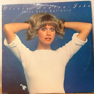 Don't Stop Believin by Olivia Newton John. Vinyl L.P. record album - 1976