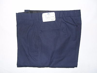 US Military USN Navy Men's DSCP Blue UTILITY WORK TROUSERS PANTS sz 33 XL NWT
