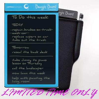 Boogie Board Original 8.5 inch LCD eWriter - CYAN only with FREE case SALE!!!