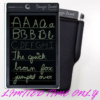 Boogie Board Original 8.5 inch LCD eWriter - Black only with FREE case SALE!!!