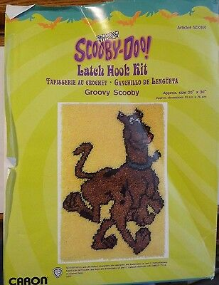 "Scooby Doo Latch Hook Rug Kit by Caron - Groovy Scooby 20"" by 30"""