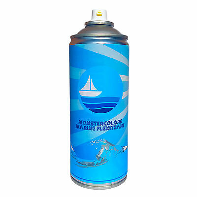 PVC Flexithane Flexible Marine Spray Paint - For PVC Inflatable Boats Dinghy RIB