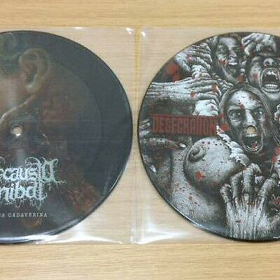 "Desecration / Holocausto Canibal Picture Disc 7"" Ltd Edition Suffocation"