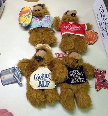 1988 Burger King Alf Puppets All (4) in Collection