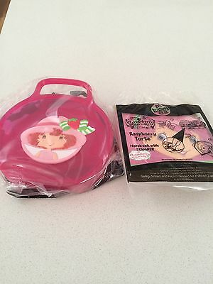 Mcdonalds set of 2 Strawberry Shortcake happy meal toys New Raspberry stamper